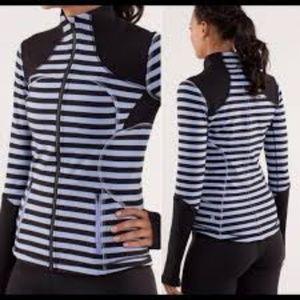 Lululemon Forme Sea Stripe/Polar Haze Jacket